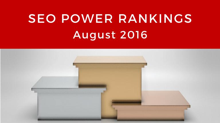 SEO Power Rankings