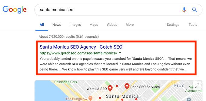 Santa Monica SEO