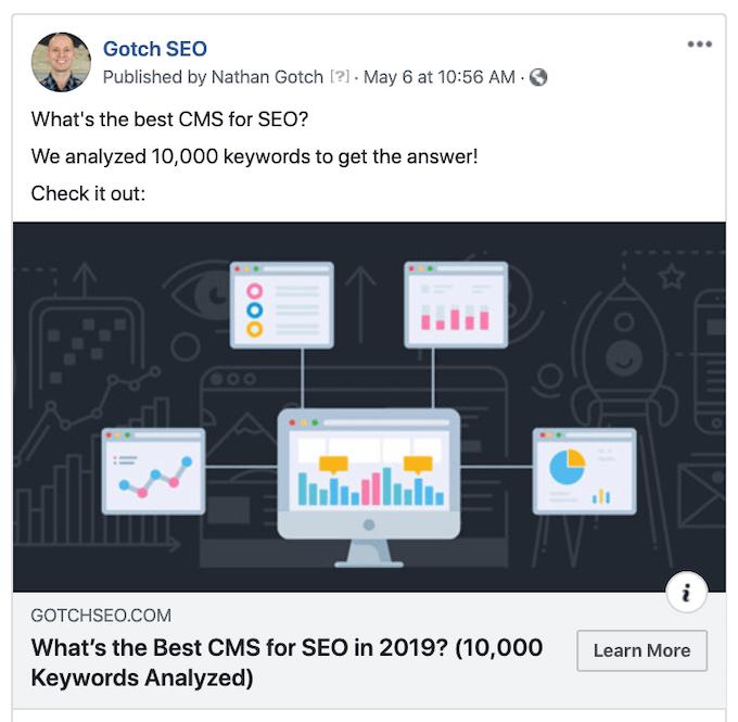 Facebook Open Graph Example