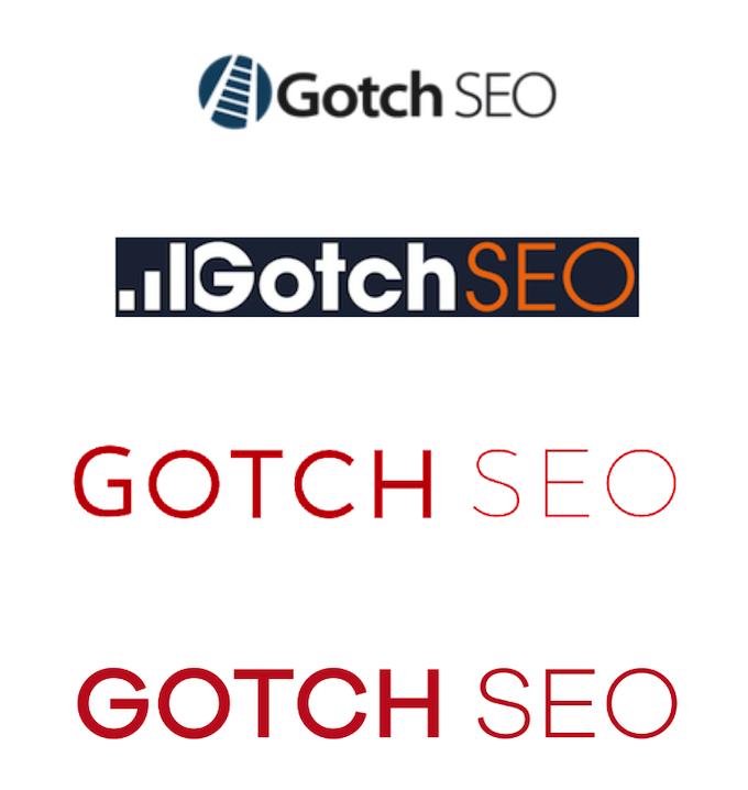 Gotch SEO logo evolution