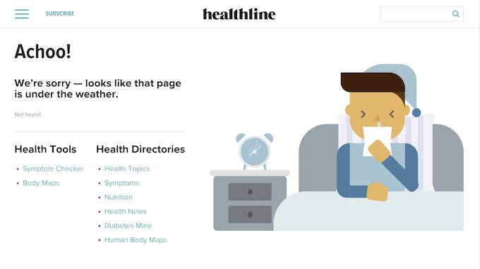 healthline 404