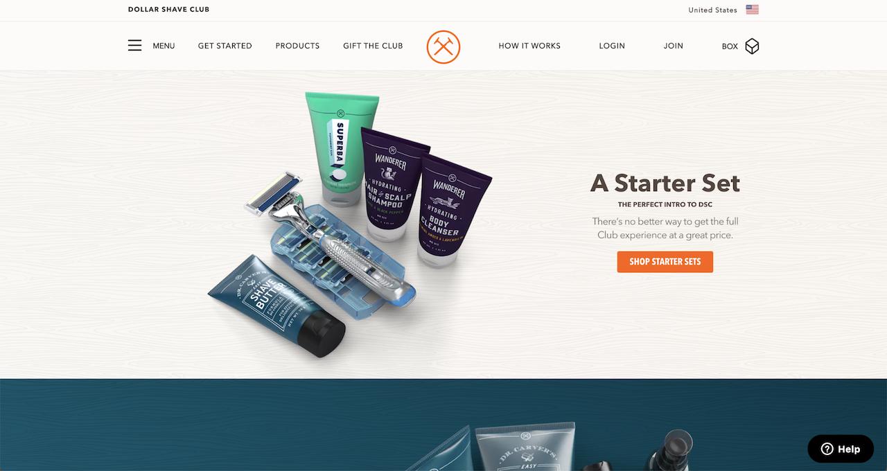 dollar-shave-club-homepage