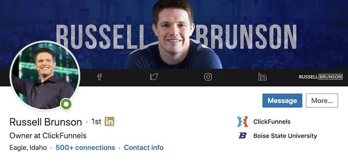 Russell Brunson LinkedIn