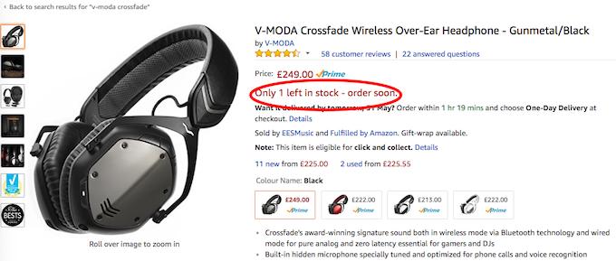 Amazon Scarcity