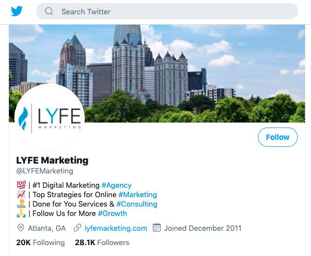 LYFE Twitter