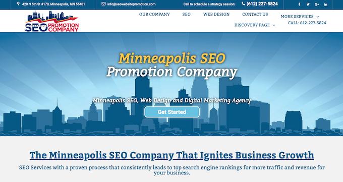 Minneapolis SEO Promotion Company