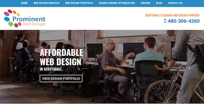 Prominent Web Design