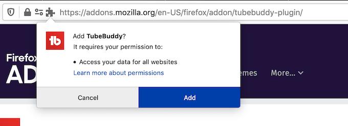 Add to Firefox