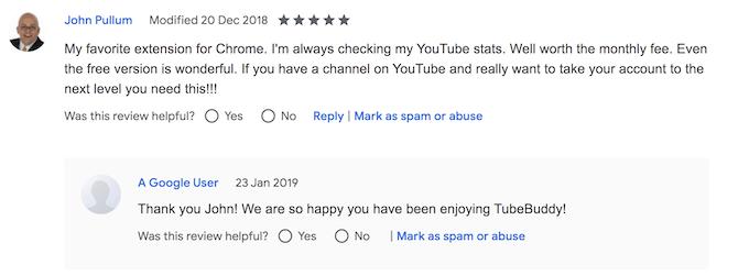 tubebuddy chrome review