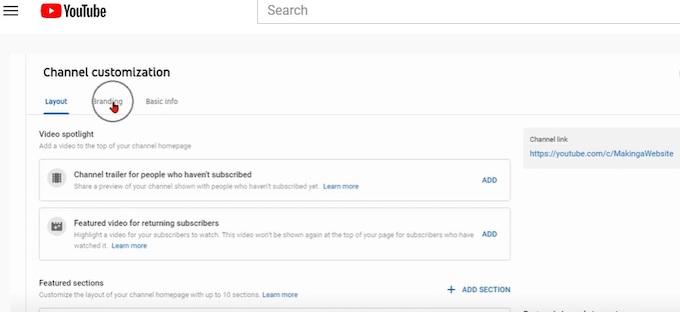channel customization